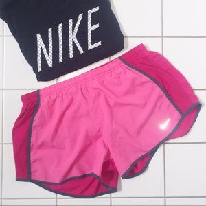 {2 for 20} Pink Nike Dri-Fit Running Shorts L